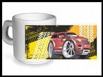 Koolart TYRE TRAX 4x4 Design For Range Rover Evoque - Ceramic Tea Or Coffee Mug
